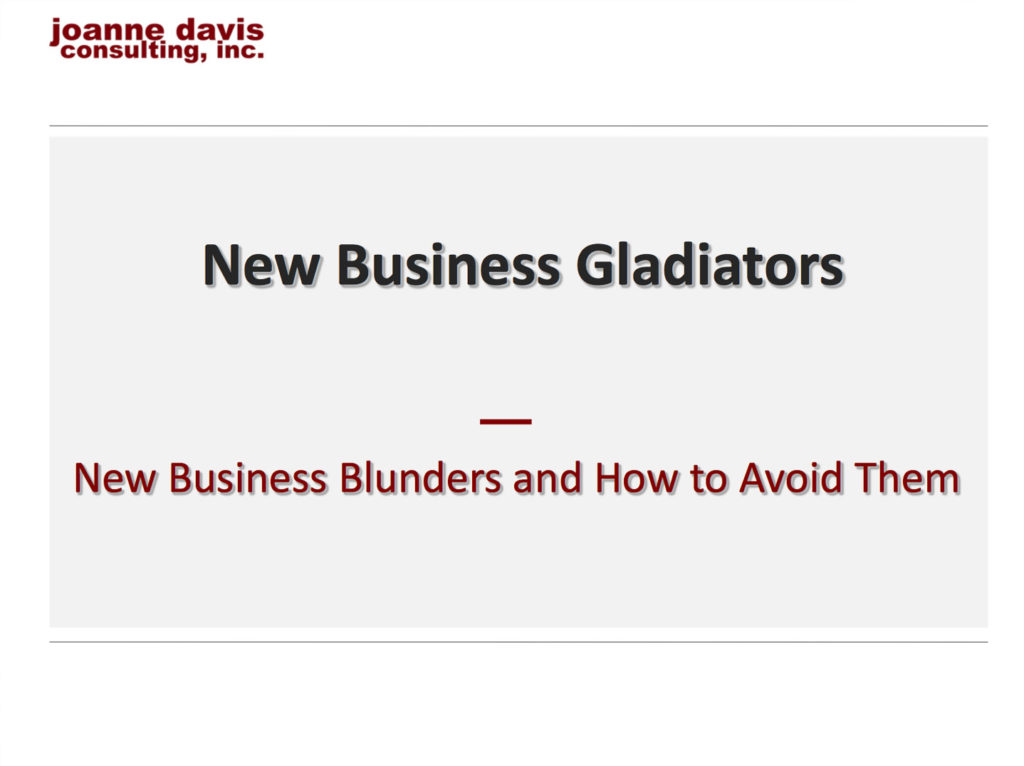 New Business Gladiators